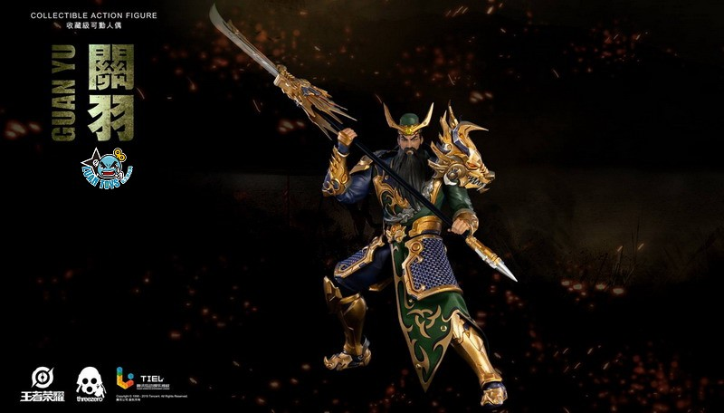 Threezero HONOR OF KINGS 王者榮耀 - GUAN YU 關羽-08