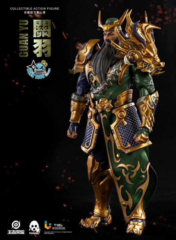 Threezero HONOR OF KINGS 王者榮耀 - GUAN YU 關羽-09