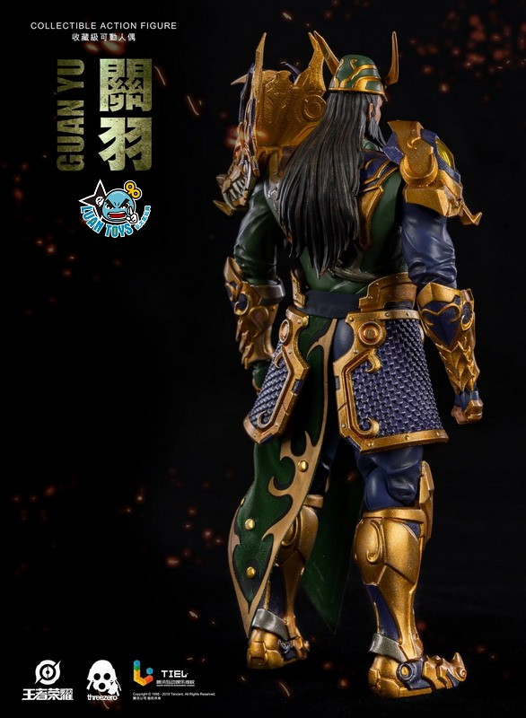 Threezero HONOR OF KINGS 王者榮耀 - GUAN YU 關羽-10