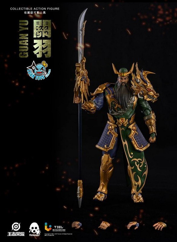 Threezero HONOR OF KINGS 王者榮耀 - GUAN YU 關羽-11