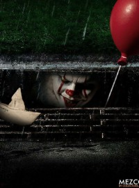 MEZCO IT 牠 - IT 牠、PENNYWISE THE DANCING CLOWN 跳舞小丑 潘尼懷斯-01