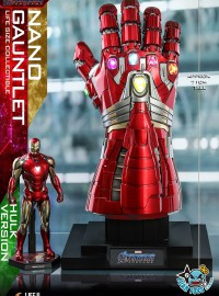 HOT TOYS MARVEL AVENGERS ENDGAME 復仇者聯盟 4 終局之戰 –  NAND GAUNTLET 奈米手套(HULK 浩克版Ver.)-10