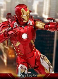HOT TOYS MARVEL AVENGERS 復仇者聯盟 - IRON MAN MARK VII 鋼鐵人 MARK 7(合金版)、TONY STARK 東尼史塔克(ROBERT DOWNEY JR. 小勞勃道尼飾演)-02