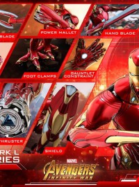 HOT TOYS MARVEL AVENGERS INFINITY WAR 復仇者聯盟 3 無限之戰 – IRON MAN MARK L ACCESSORIES 鋼鐵人 MARK 50 配件組-25