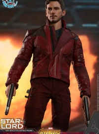 HOT TOYS MARVEL AVENGERS INFINITY WAR 復仇者聯盟 3 無限之戰 – STAR-LORD 星爵彼得、PETER QUILL 彼得奎爾(CHRIS PRATT 克里斯普瑞特飾演)-03