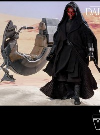 HOT TOYS STAR WARS EPISODE I THE PHANTOM MENACE 星際大戰首部曲 威脅潛伏 – DARTH MAUL & WITH SITH SPEEDER 達斯魔(RAY PARK 雷帕克飾演) & 西斯飛行車-06