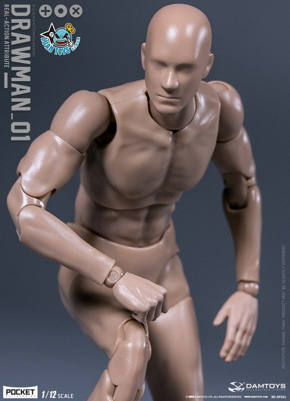 DAMTOYS DPS01 ACTION FIGURE - DARWMAN 繪畫人-01