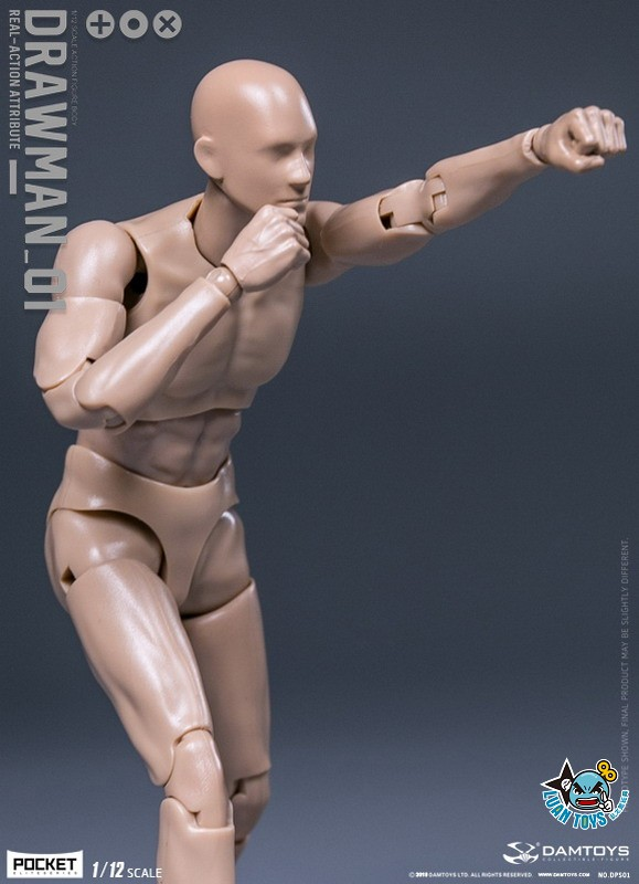 DAMTOYS DPS01 ACTION FIGURE - DARWMAN 繪畫人-02