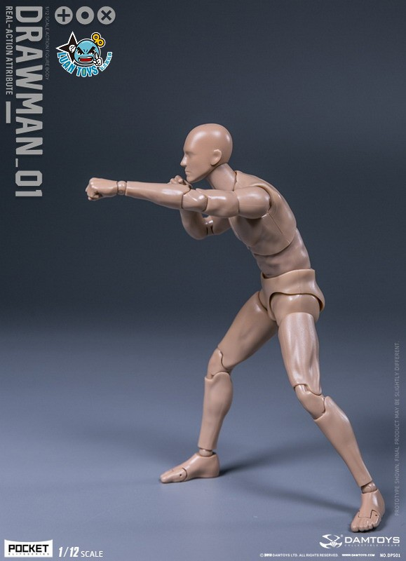 DAMTOYS DPS01 ACTION FIGURE - DARWMAN 繪畫人-03