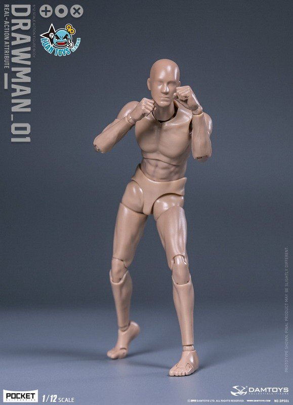 DAMTOYS DPS01 ACTION FIGURE - DARWMAN 繪畫人-04
