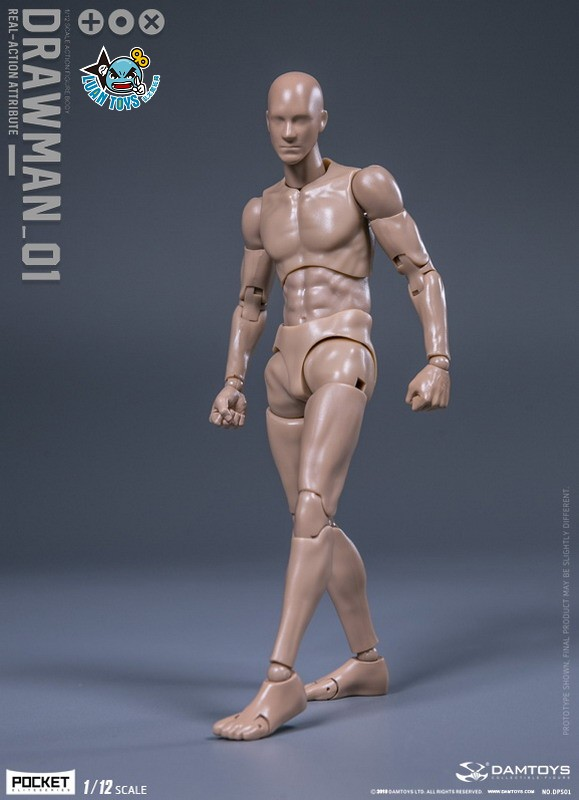 DAMTOYS DPS01 ACTION FIGURE - DARWMAN 繪畫人-07