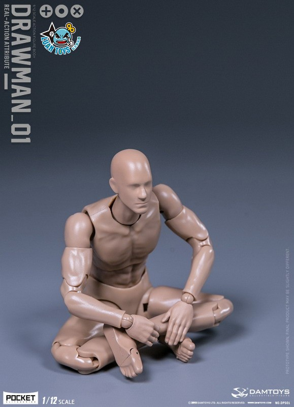 DAMTOYS DPS01 ACTION FIGURE - DARWMAN 繪畫人-10