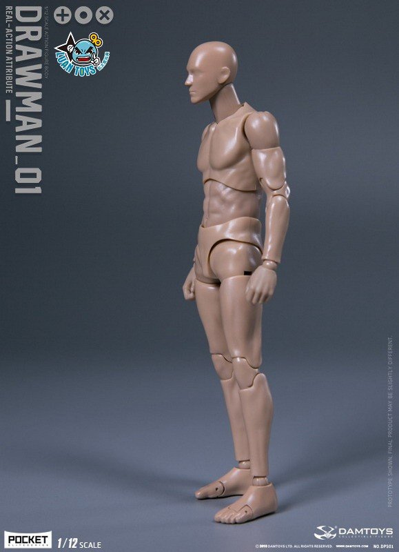 DAMTOYS DPS01 ACTION FIGURE - DARWMAN 繪畫人-12