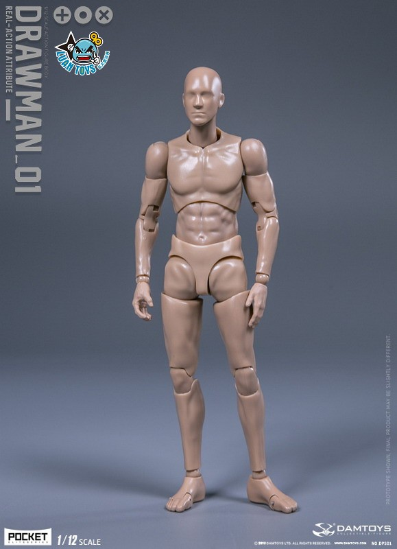 DAMTOYS DPS01 ACTION FIGURE - DARWMAN 繪畫人-13