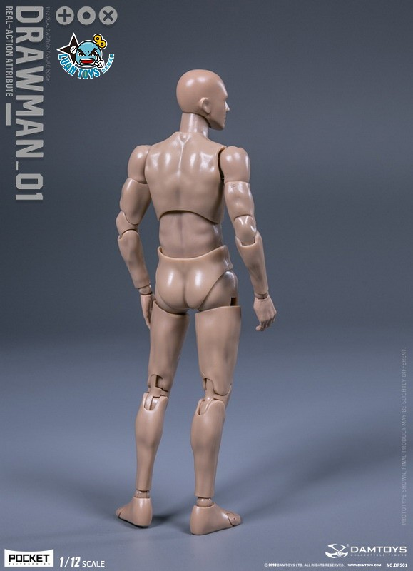 DAMTOYS DPS01 ACTION FIGURE - DARWMAN 繪畫人-14