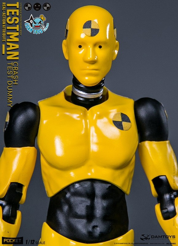 DAMTOYS DPS02 ACTION FIGURE - TESTMAN 測試人-01
