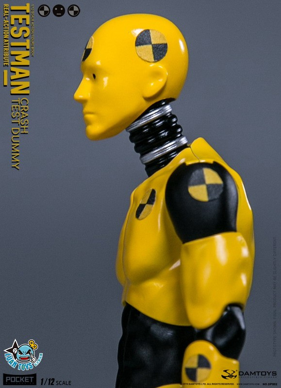DAMTOYS DPS02 ACTION FIGURE - TESTMAN 測試人-02