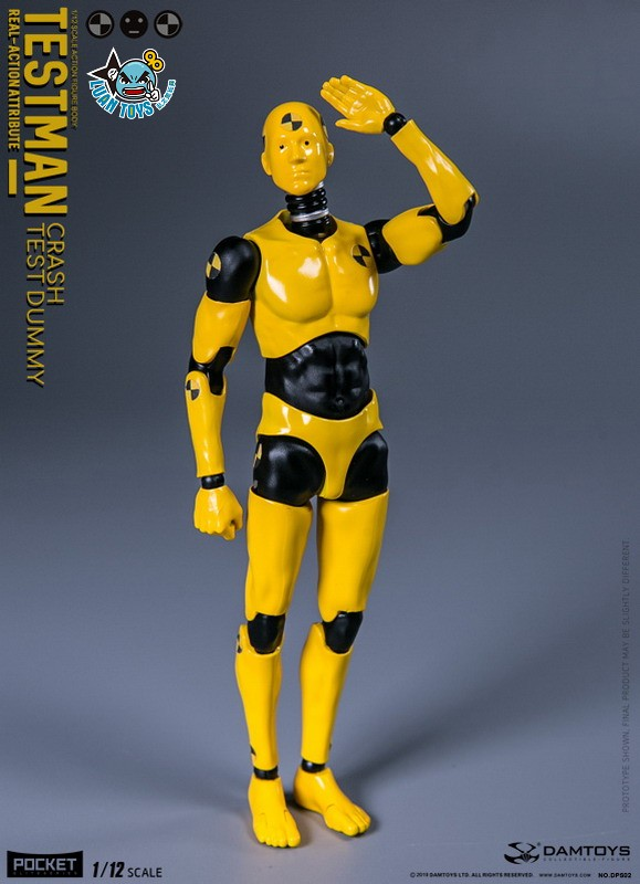 DAMTOYS DPS02 ACTION FIGURE - TESTMAN 測試人-03