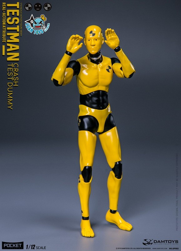 DAMTOYS DPS02 ACTION FIGURE - TESTMAN 測試人-04