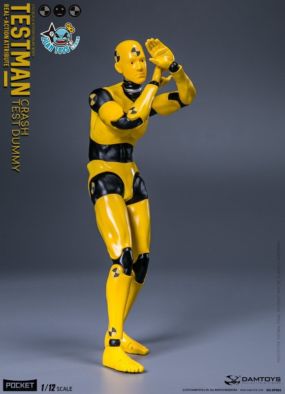 DAMTOYS DPS02 ACTION FIGURE - TESTMAN 測試人-05