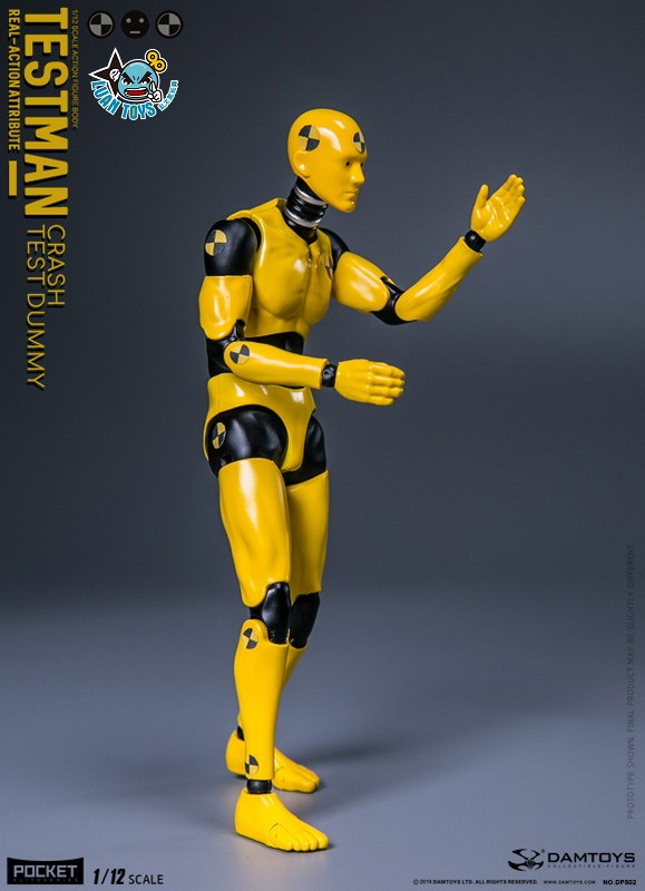 DAMTOYS DPS02 ACTION FIGURE - TESTMAN 測試人-06