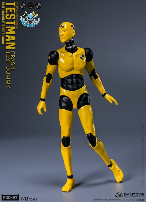 DAMTOYS DPS02 ACTION FIGURE - TESTMAN 測試人-08