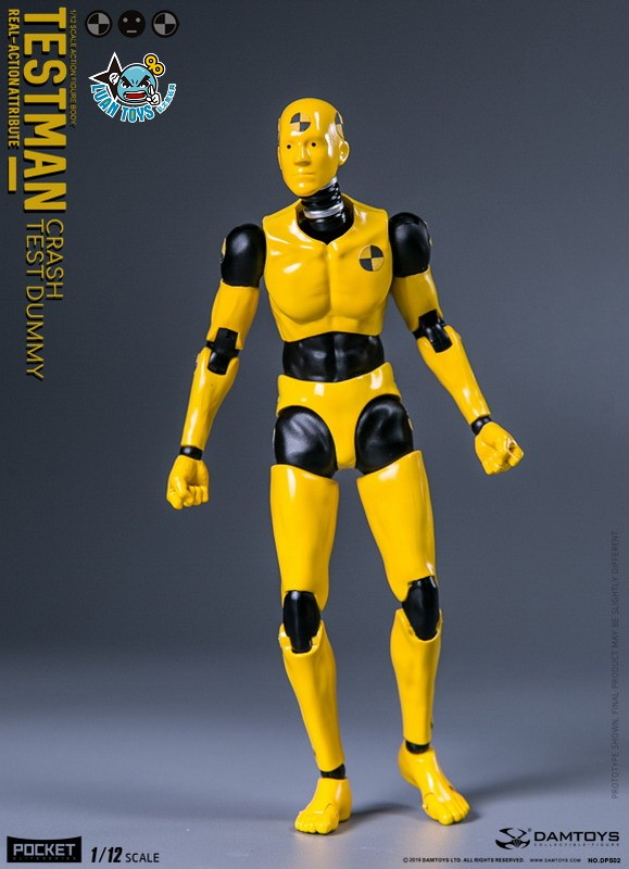 DAMTOYS DPS02 ACTION FIGURE - TESTMAN 測試人-09
