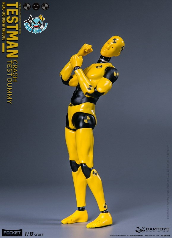 DAMTOYS DPS02 ACTION FIGURE - TESTMAN 測試人-10