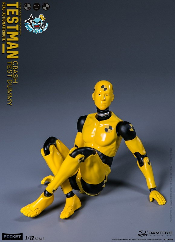 DAMTOYS DPS02 ACTION FIGURE - TESTMAN 測試人-11