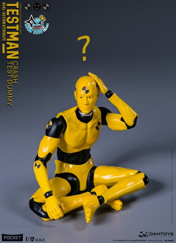 DAMTOYS DPS02 ACTION FIGURE - TESTMAN 測試人-12