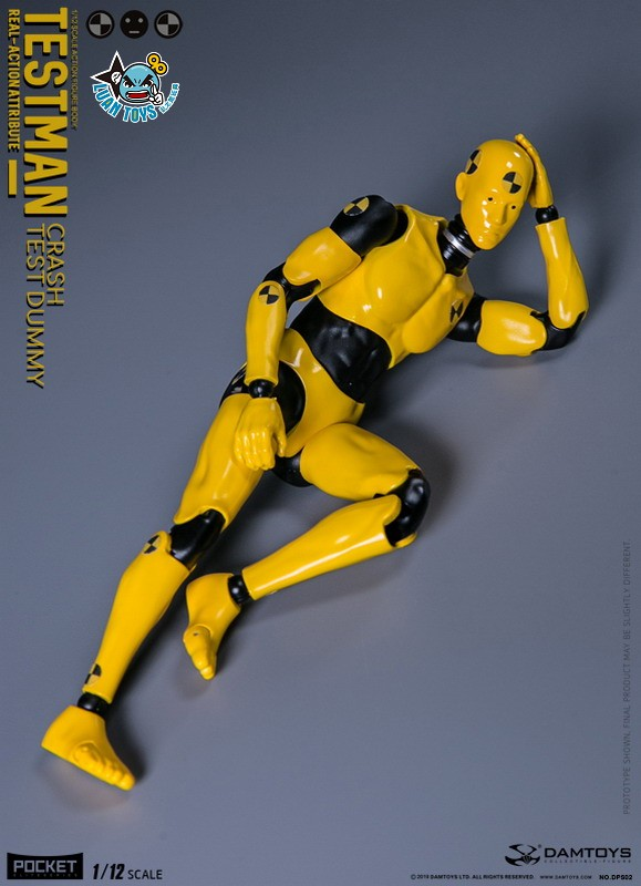 DAMTOYS DPS02 ACTION FIGURE - TESTMAN 測試人-13