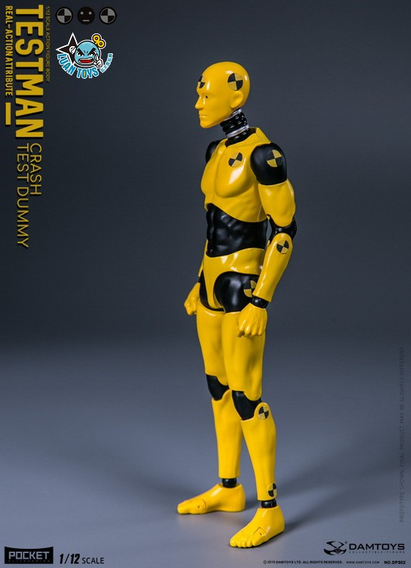 DAMTOYS DPS02 ACTION FIGURE - TESTMAN 測試人-14
