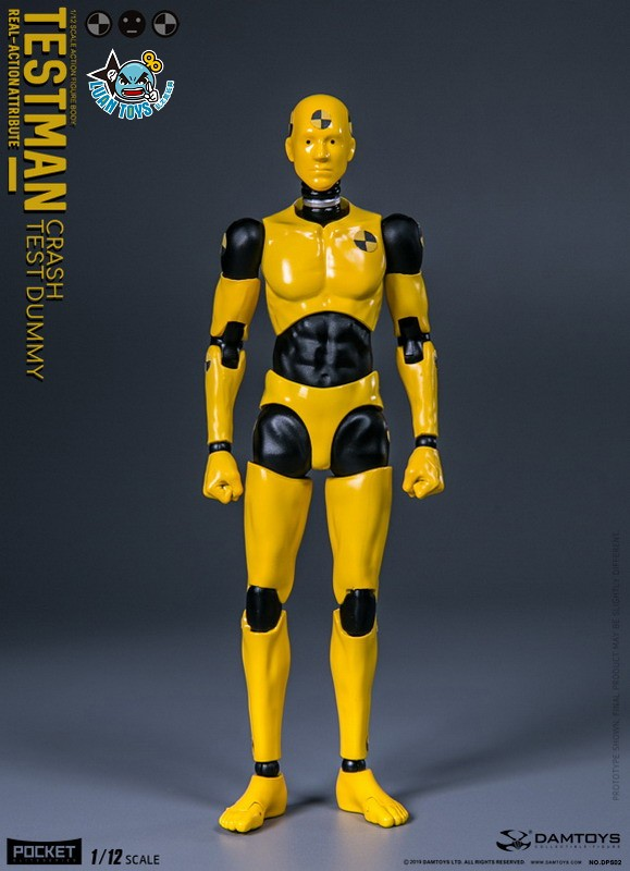DAMTOYS DPS02 ACTION FIGURE - TESTMAN 測試人-15