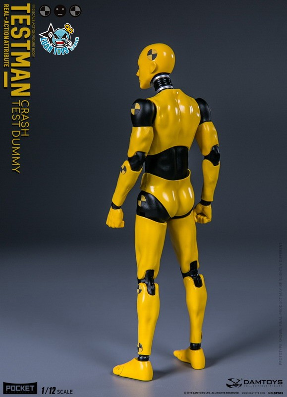 DAMTOYS DPS02 ACTION FIGURE - TESTMAN 測試人-16
