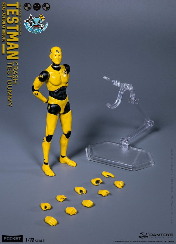 DAMTOYS DPS02 ACTION FIGURE - TESTMAN 測試人-17