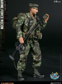 DAMTOYS PES009 USMC、US MARINE FORCE RECON 美國海軍陸戰隊武力偵搜隊(WF2019 限定版)-10