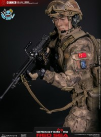 DAMTOYS DMS007 CHINESE PEOPLE'S LIBERATION ARMY NAVY MARINE CORPS JIAOLONG SPECIAL OPERATIONS BRIGADE SAW GUNNER 中國人民解放軍海軍陸戰隊蛟龍特戰旅槍兵-06