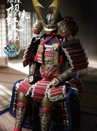 POPTOYS POP-EX025 GOLD LACQUER GRAND ARMOR 金漆塗切付札紅威大鎧-02