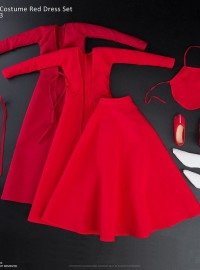 VERYCOOL CL-1003 ANCIENT COSTUME RED DRESS SET 古代服飾紅色裙裝配件組-01