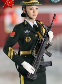 LAST TOY LT004 THE THREE SERVICES OF THE CHINESE PEOPLE'S LIBERATION ARMY 中國人民解放軍陸軍儀仗隊女兵-04