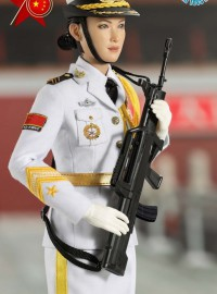 LAST TOY LT005 THE THREE SERVICES OF THE CHINESE PEOPLE'S LIBERATION ARMY 中國人民解放軍海軍儀仗隊女兵-03