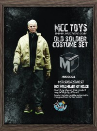 MCCTOYS MCC024 CAPTAIN AMERICA LEATHER SUIT 老年版美國隊長服裝配件組-01