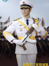 POPTOYS POP-19001 THE THREE SERVICES OF THE CHINESE PEOPLE'S LIBERATION ARMY 中國人民解放軍海軍儀仗隊-01