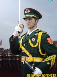 POPTOYS POP-19002 THE THREE SERVICES OF THE CHINESE PEOPLE'S LIBERATION ARMY 中國人民解放軍陸軍儀仗隊-01