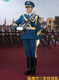 POPTOYS POP-19003 THE THREE SERVICES OF THE CHINESE PEOPLE'S LIBERATION ARMY 中國人民解放軍空軍儀仗隊-01