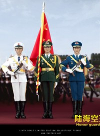 POPTOYS POP-19004 THE THREE SERVICES OF THE CHINESE PEOPLE'S LIBERATION ARMY 中國人民解放軍陸海空三軍儀仗隊-03