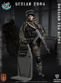 CRAZY FIGURE LW007 RUSSIAN SPETSNAZ FSB ALPHA GROUP HEAVY SHIELD HAND 俄羅斯聯邦安全局阿爾法特種部隊重盾手-01