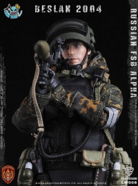 CRAZY FIGURE LW008 RUSSIAN SPETSNAZ FSB ALPHA GROUP GRENADIER 俄羅斯聯邦安全局阿爾法特種部隊榴彈手-11