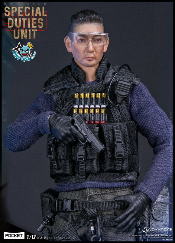 DAMTOYS PES008 HONG KONG ROYAL SDU ASSAULT TEAM 香港皇家特警飛虎隊攻擊隊隊員-01