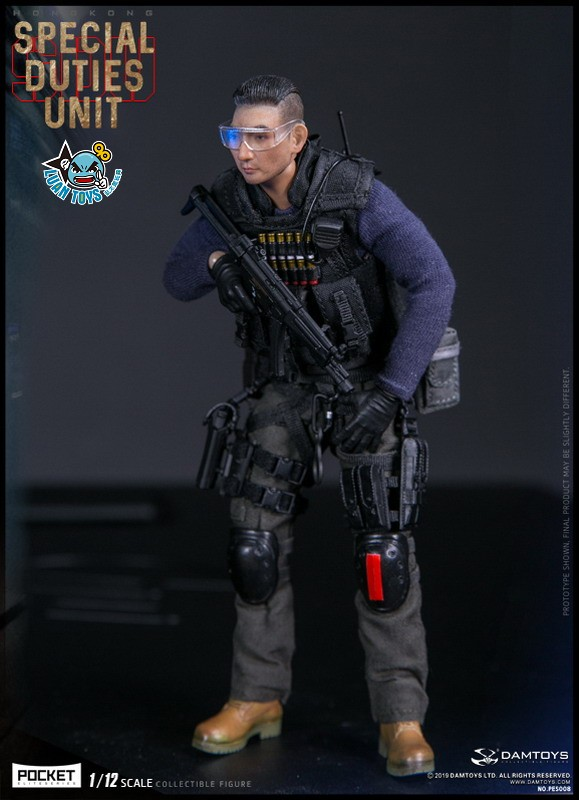 DAMTOYS PES008 HONG KONG ROYAL SDU ASSAULT TEAM 香港皇家特警飛虎隊攻擊隊隊員-02